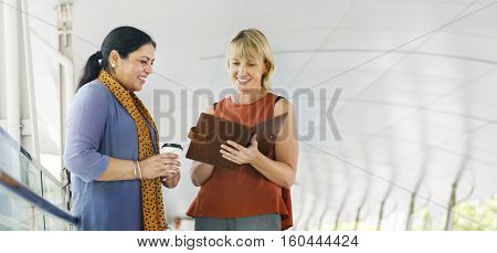 Business People Together Communication Concept