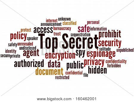 Top Secret, Word Cloud Concept