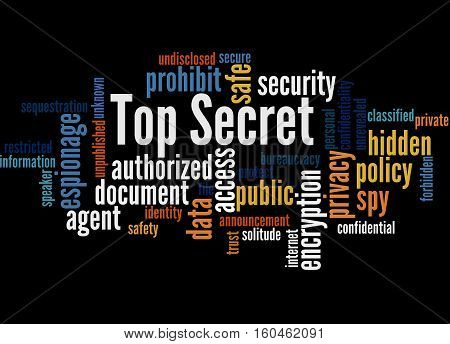 Top Secret, Word Cloud Concept 2