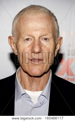 Raymond J. Barry at the season 3 premiere screening of FX's 'Justified' held at the DGA Theater in Hollywood, USA on January 10, 2012.