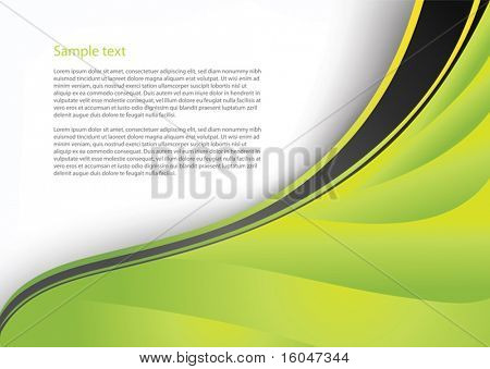 Vector abstract background with waives for business artworks