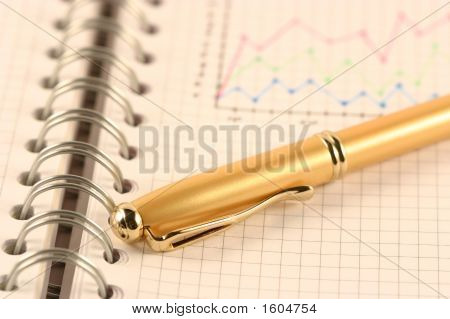 The Pen On A Writing-Book