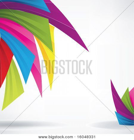 Rainbow background for business artwork
