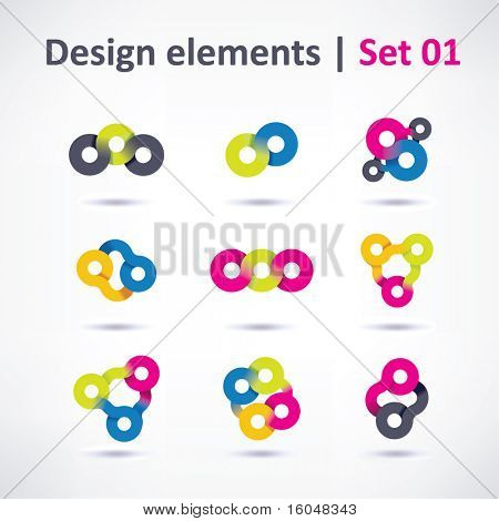 Business Design elements ( icon ) for print and web. vector
