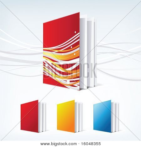 Business Design elements ( icon ) book for print and web. vector