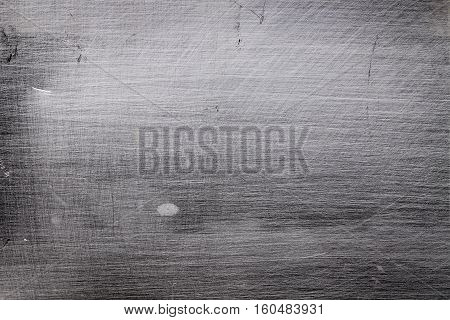 Obsolete metallic surface as the textured background.
