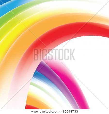 Rainbow gradient mesh background with place for text for business artwork