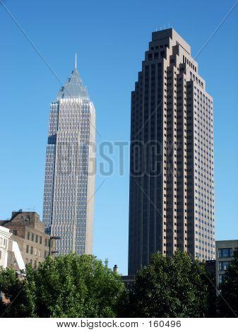 Innenstadt Wolkenkratzer