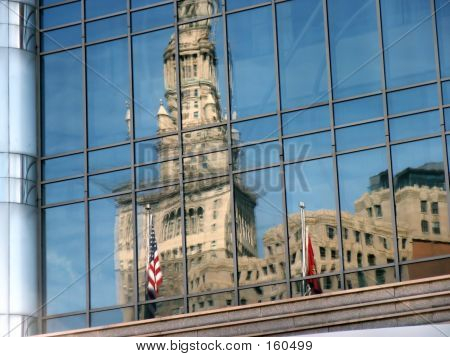 Reflected Building