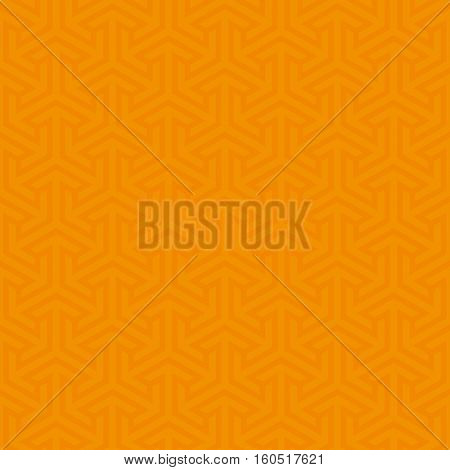 Orange Neutral Seamless Pattern for Modern Design in Flat Style. Tileable Geometric Vector Background.