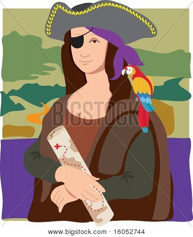 Mona Lisa Pirate