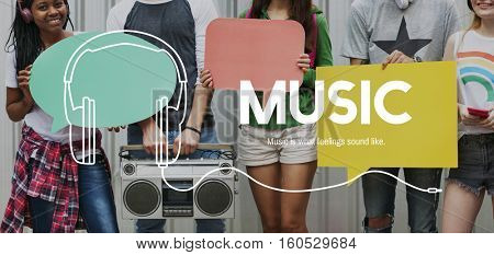 Music Lifestyle Leisure Entertainment Concept