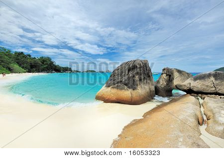 Tropical Desert Island Beach