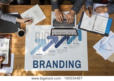 Business Strategy Branding Planning Concept