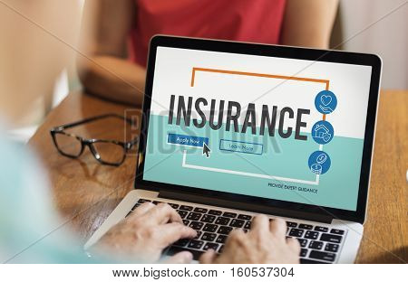 Insurance Life Reimbursement Protection Concept