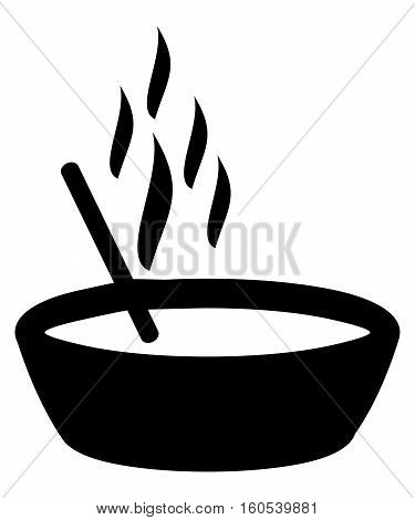 Noodles vector sign abstract asian beverage bowl catering