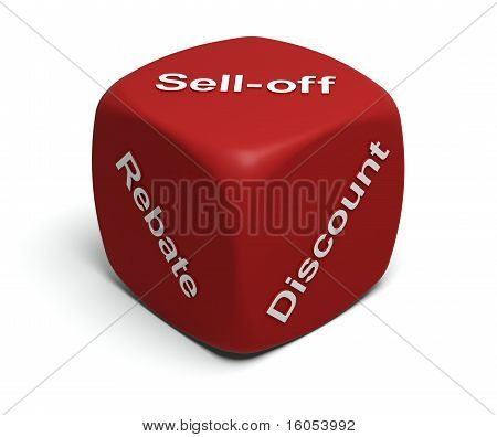 Rebate, Discount, Sell-off