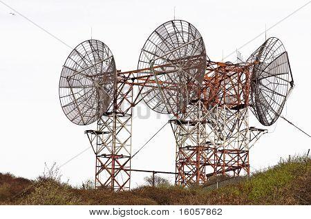 Radar parabol telescope