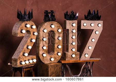 Happy New Year 2017 replace 2016 concept. Happy New Year 2017 replace 2016 concept.