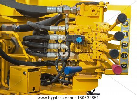the new powerful Excavator pressure pipes system