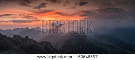 Decline In High Mountain