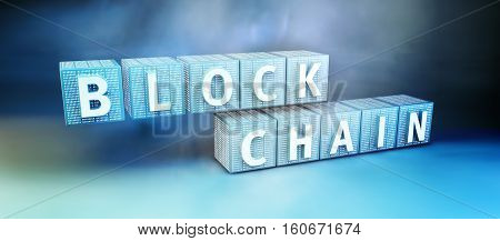 Blockchain Encryption Concept