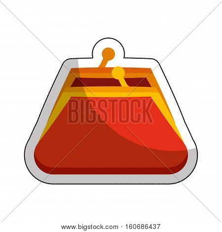 purse woman isolated icon vector illustration design