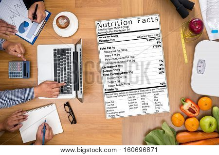 Food Gluten Free Celiac Disease Nutrition , Healthy Lifestyle Concept With Diet And Fitness And Nutr