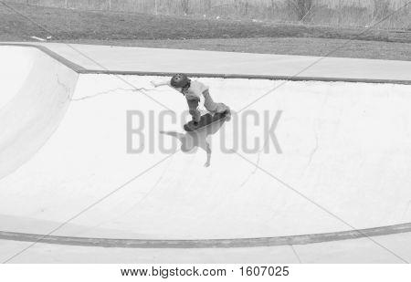 Skateboarder Bowl
