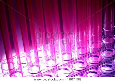Test Tubes in Science Research Lab