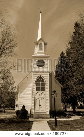 Church With Steeple