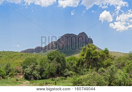 Landscape in the Marakele National Park, Limpopo, South Africa