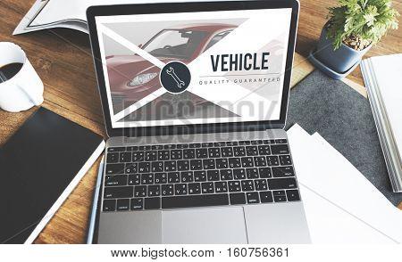 Automobile Blog Concept
