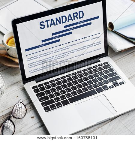 Assurance Guarantee Standard Quality Concept