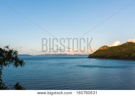 South Molle Island, part of the Whitsunday Islands, is a resort island in the Whitsunday section of the Great Barrier Reef Marine Park in Australia