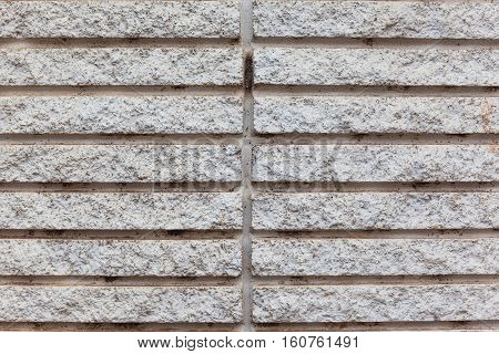 Gray Cement brick wall pattern of texture and background