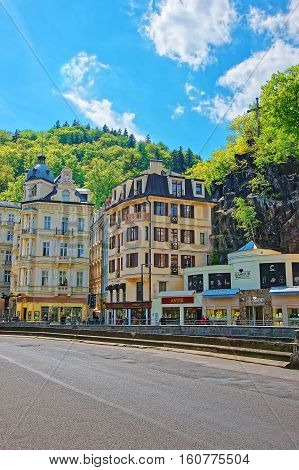 Luxury Grand Hotel Pupp At Promenade Of Karlovy Vary