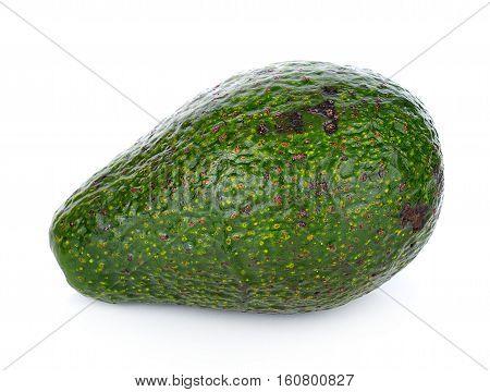 Avocado On White Background vegetable, half, eat, lifestyle, healthy