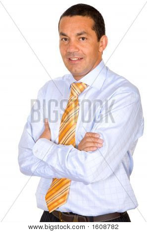 Confident Business Man Portrait