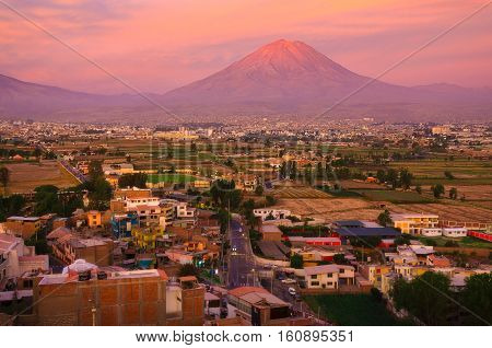 The Sachaca district is one of Arequipa's district in Peru.