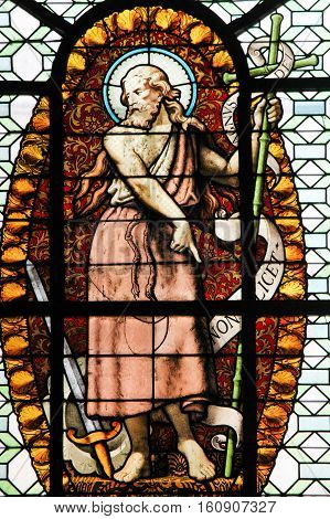 Stained Glass - John The Baptist