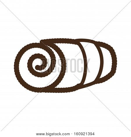 rolled towel icon image vector illustration design