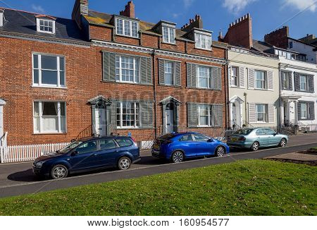 EXMOUTH UK 21 October 2016: historic building