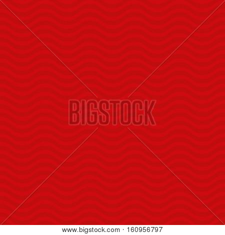 Wavy pattern. Red Neutral Seamless Pattern for Modern Design in Flat Style. Tileable Geometric Vector Background.
