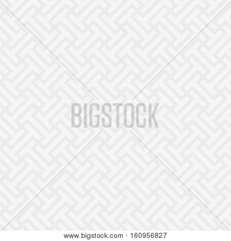 White Neutral Seamless Pattern for Modern Design in Flat Style. Tileable pattern Geometric Vector Background.