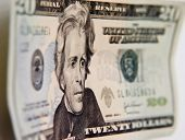 stock photo of twenty dollar bill  - Twenty US - JPG