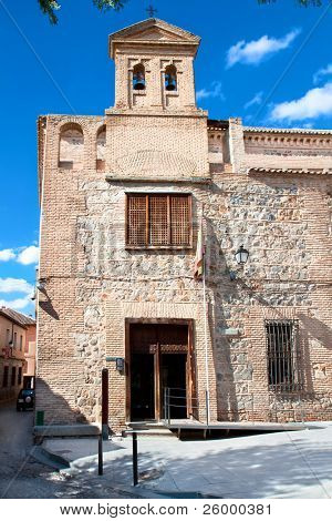 Synagogue del Transito in Toledo, Spain.