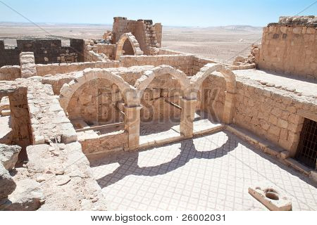 Qasr Al Hallabat desert castle, Jordan