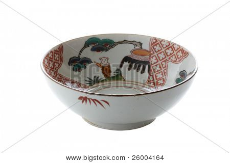 Donburi or a china bowl