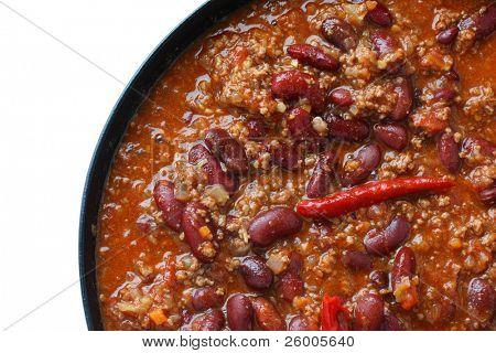 Chili Bohnen, Chili Con carne
